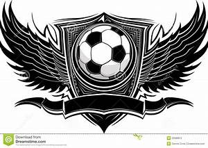Soccer Ball Ornate Graphic Template Stock Vector - Image ...