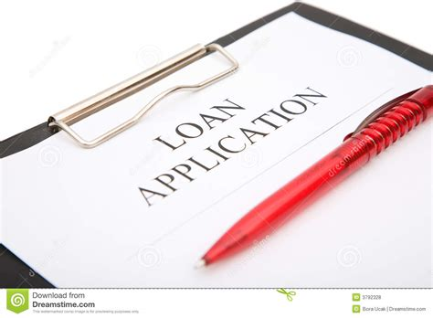 Loan Application Royalty Free Stock Photos