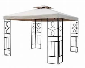 Wand Pavillon Wasserdicht : pavillon romantika metall inkl dach wasserfest ~ Articles-book.com Haus und Dekorationen