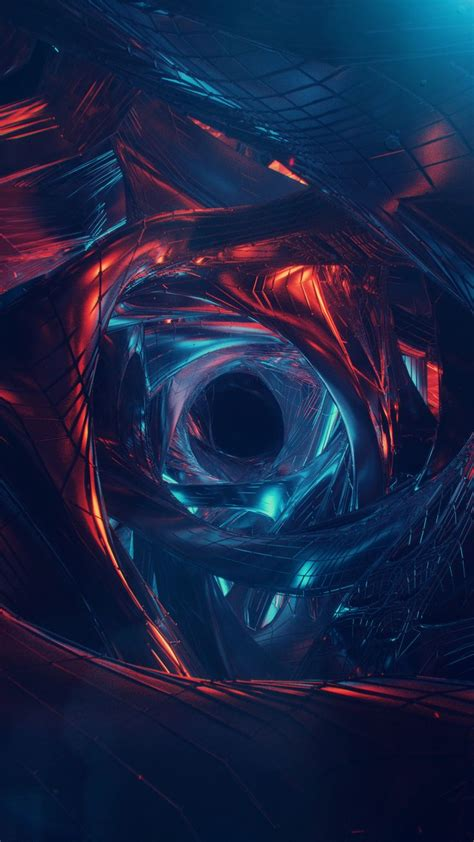Abstract Wallpaper For Android Phone by Abstract Wormhole Visualization Wallpapers Hd 4k