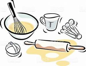 Baking Supplies stock vector art 165744612 | iStock