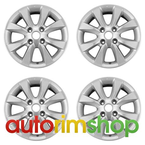 nissan sentra 2010 2012 16 quot factory oem wheels rims set ebay