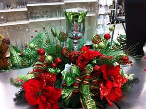 Halloween Table Decorations Pinterest by Lime Green And Red Christmas Centerpiece I Made It