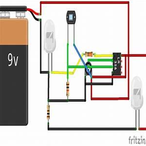 Ir Sensor Using Lm358  U2013 Roboterics