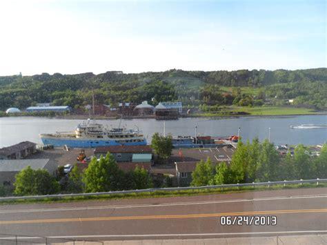 portage lake shipping canal dredging white lake