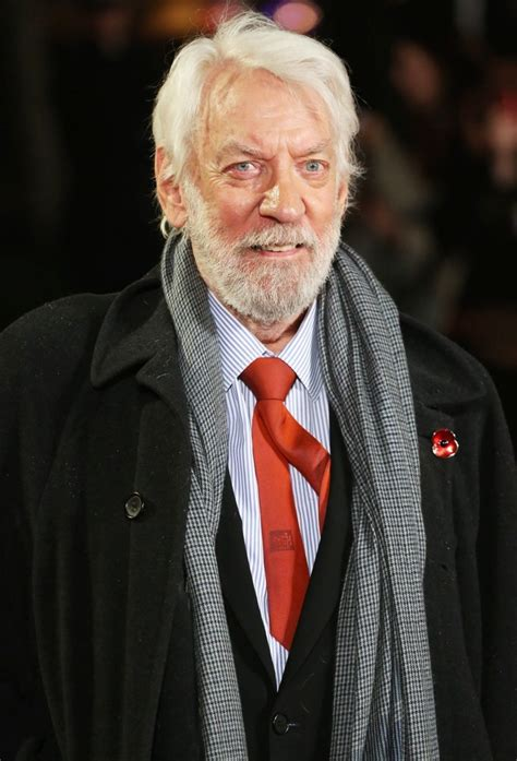 donald sutherland images donald sutherland picture 31 the world premiere of the
