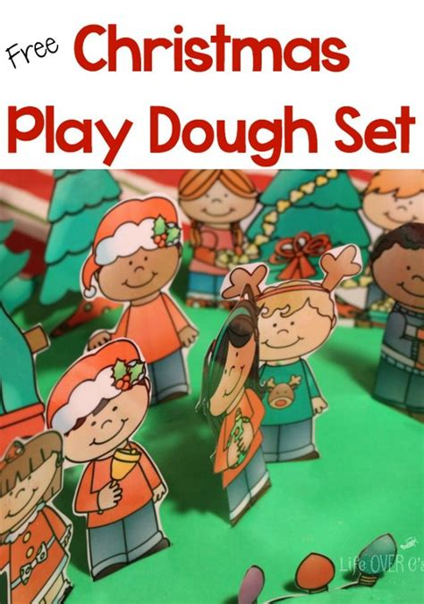 free play dough printable set preschool 409 | 42caa0b5ce6ef8e59a14f52822474b5d