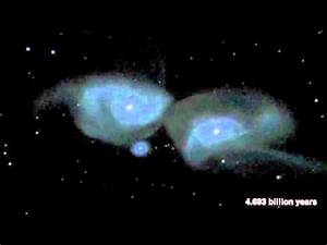 Milky Way's Head-On Collision With Andromeda Galaxy ...