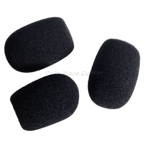 gifts for karaoke fans 15x27x40mm sponge microphone headset cups mic cover