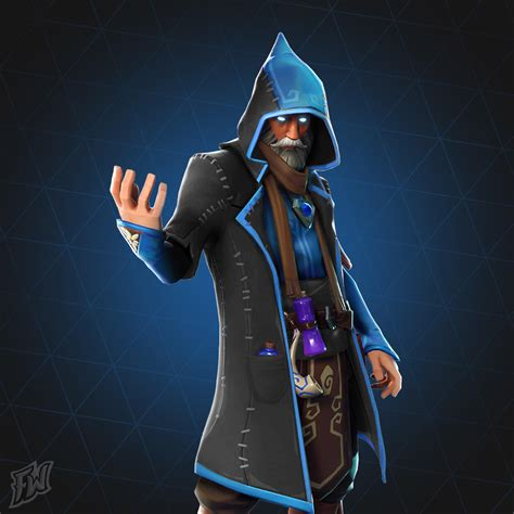 Remastered Castor/Wizard skin! : FortNiteBR
