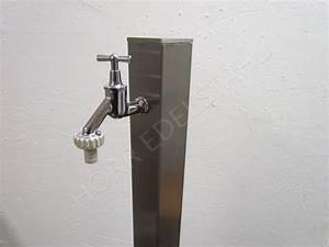 Edelstahl Vierkantrohr 80x80 : zapfstelle 80x80 edelstahl 1 x wasser zapfhahn verchromt ~ Eleganceandgraceweddings.com Haus und Dekorationen