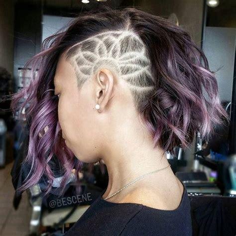 trendy undercut haircut designs  bold girls