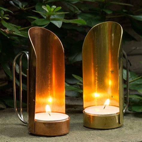 brass copper candleholders garrett wade