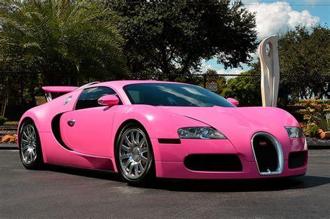 Flo Rida's Pink Bugatti Veyron