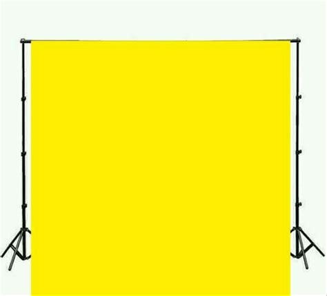 jual background foto polos kuning ukuran xm  lapak