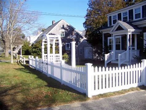 Cape Cod Arbors  Bennett Fence And Arbor On Cape Cod