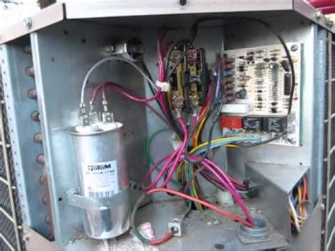 Lennox Contactor Wiring Diagram Free Picture by Bad Dual Run Capacitor On A Coleman Evcon Heat