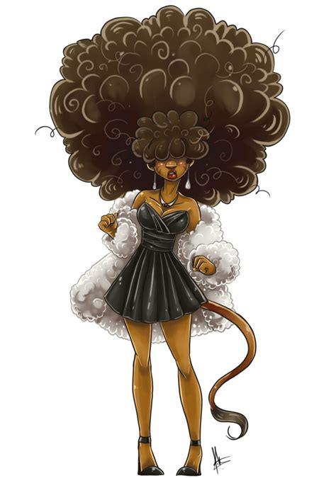 Elegant Afro By Yuramec On Deviantart
