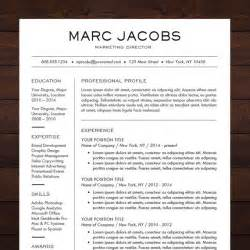 chronological resume cv modern design instant resume template cv template for ms word quot the quot professional resume