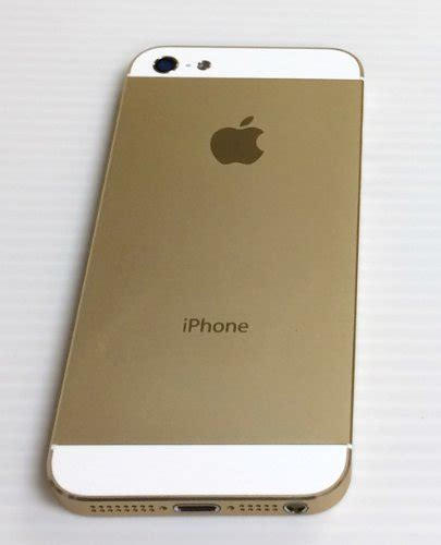 iphone 5 gold iphone 5s back cover gold housing with small parts