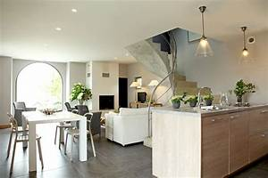 photo deco interieur maison moderne With idee deco maison contemporaine