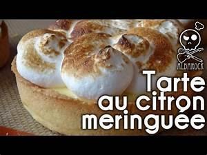 Recette Tarte Citron Meringuée Facile : recette tarte au citron meringu e recette p te sabl e facile p tisserie dessert ~ Nature-et-papiers.com Idées de Décoration