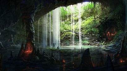 Cave Wallpapers 1080 1920 Caves Fantasy Paintings