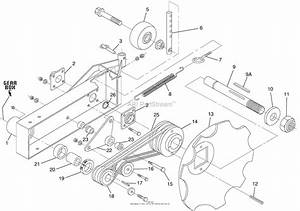 Bunton  Bobcat  Ryan 900 Walk Behind Edger Parts Diagram