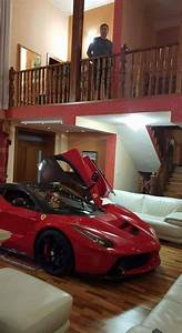 This Guy Parked A LaFerrari In His Living Room Carscoops