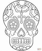 Coloring Sugar Owl Skull Popular Printable sketch template
