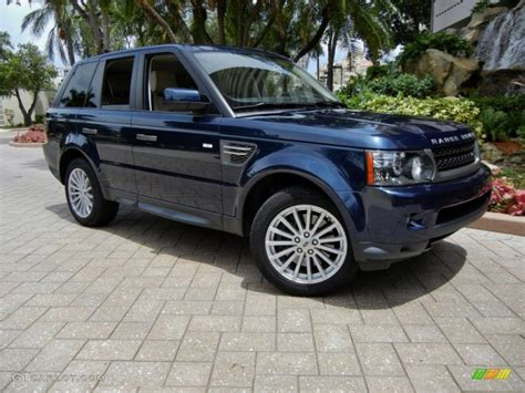 blue land rover 2011 baltic blue land rover range rover sport hse