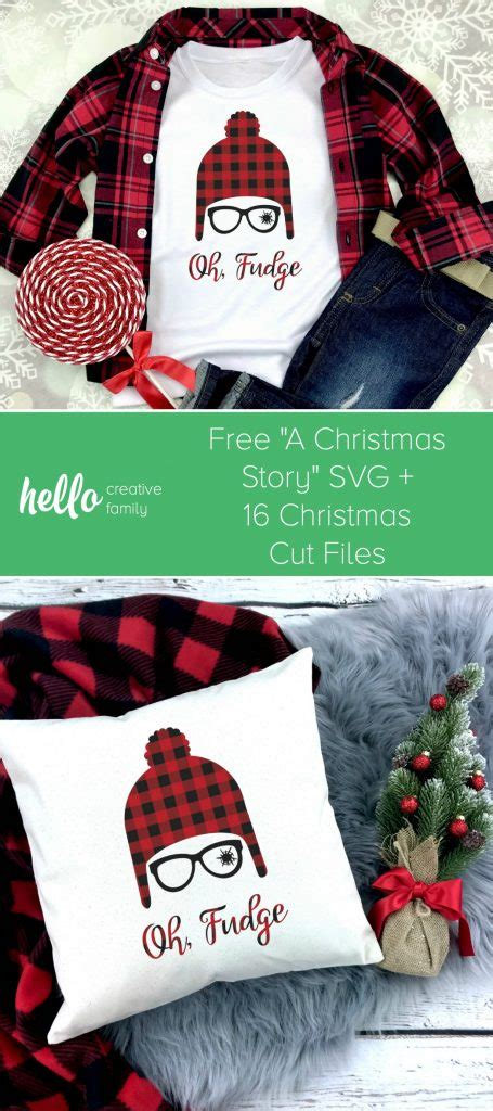 Did you know that one of my dear. Free Christmas Story SVG + 16 Christmas Cut Files