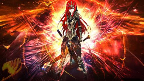 fairy tail erza wallpaper  background image