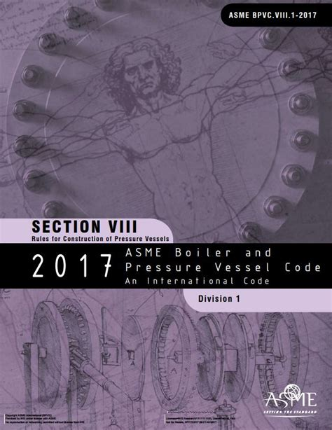 asme section 8 div 1 asme bpvc viii 1 section viii division 1 for