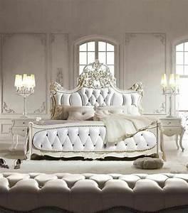 Lit Style Baroque : 60 id es en photos avec clairage romantique ~ Teatrodelosmanantiales.com Idées de Décoration