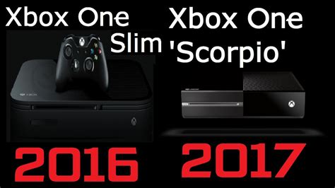 xbox 1 scorpio rumor xbox one slim 2tb in 2016 xbox one scorpio in 2017