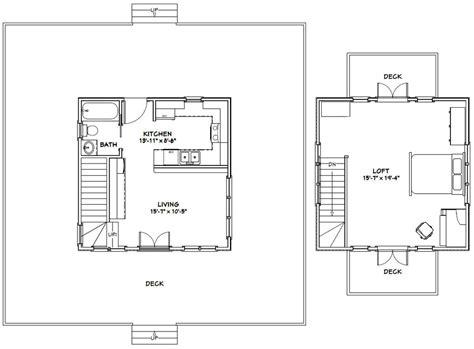 floor plans 20 x 20 cabin 20 x 20 house floor plans home deco plans