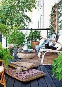 balkon bepflanzen 60 originelle ideen archzinenet With französischer balkon mit deko tisch garten