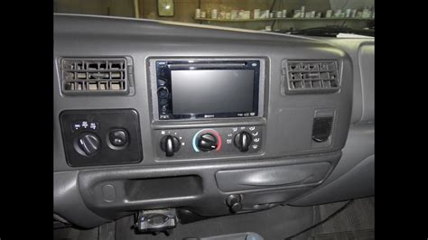 install  double din dvd stereo     ford