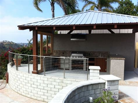 encinitas outdoor entertainment center installation