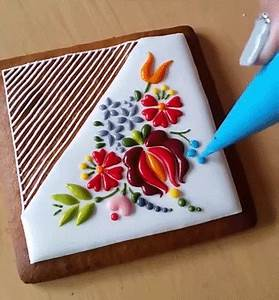 Watch mesmerizing embroidery inspired cookie colossal for Mesmerizing embroidery inspired cookie decorating by mezesmanna