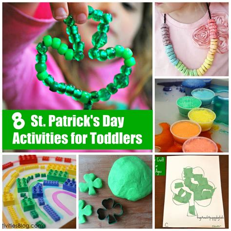simple st patricks day activities  toddlers happy
