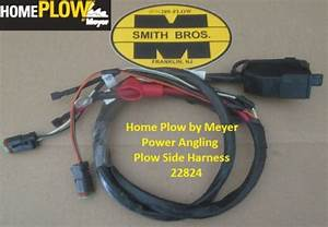 Genuine Meyer 22824 Harness Plow Side Power Angling Home