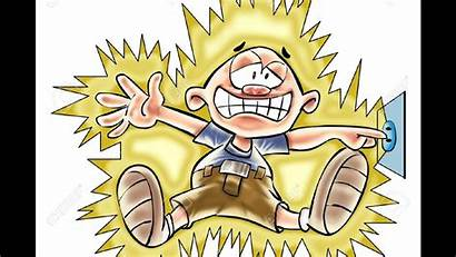 Shock Electric Clipart Ac Volts Safety Science