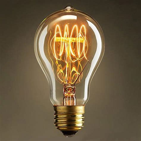 edison light bulb incandescent bulb e27 40w 220v retro edison style light