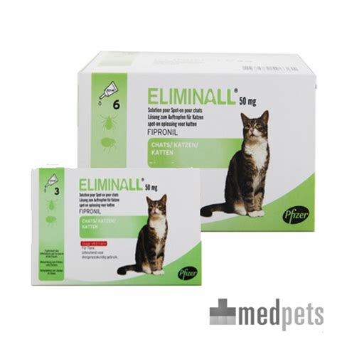 eliminall katze spot  gegen floehe und zecken