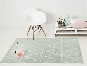 vert menthe une couleur de deco tendance douce et paisible With tapis vert menthe