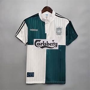 Liverpool 1995 1996 Away Football Shirt