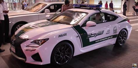lexus dubai all lexus why does the dubai police need a lexus rc f