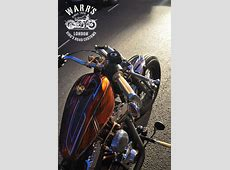 Custom HarleyDavidson Crossbones Baptized Frisco Bobber
